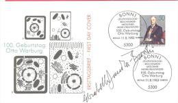 Michel # 1184 Mit Unterschrift Entwerfer Elisabeth Von Janota - Bzowski - BRD