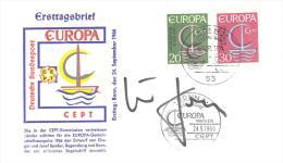 Michel # 519 - 20  Mit Unterschrift  ??? - [7] República Federal