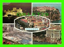 MONACO - PRINCIPAUTÉ DE MONACO - SOUVENIRS - 5 MULTIVUES - EDITIONS AJAX  - - Multi-vues, Vues Panoramiques