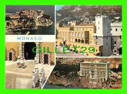 MONACO - PRINCIPAUTÉ DE MONACO - SOUVENIRS - 4 MULTI-VUES - EDITIONS AJAX  - - Multi-vues, Vues Panoramiques