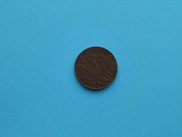 1938 I - 1 Fils ( Ghazi I ) Iraq KM 102 ( Uncleaned Coin - For Grade, Please See Photo ) !! - Iraq