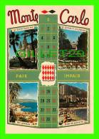MONACO - PRINCIPAUTÉ DE MONACO -  4 MULTI-VUES - EDITIONS S.E.P.T.  - - Multi-vues, Vues Panoramiques