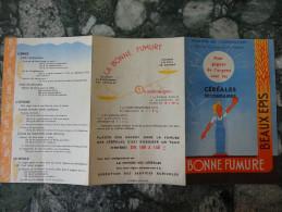 """Fascicule Pub """"Fumure Des Cereales """"edite Par Le Ministere De L'Agriculture Annees 1950 - 2. Seeds"""