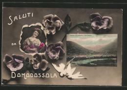 Cartolina Domodossola, Panorama Di Domodossola E Valle Bognanco - Italie