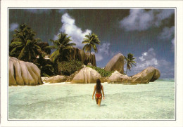 *SEYCHELLES* Cartolina Informativa - Seychelles
