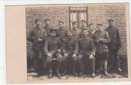 Photocarte Allemande- Militaires Soldats Allemand  Brassard Croix Rouge(guerre 14-18) - Guerre 1914-18