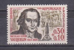FRANCE / 1963 / Y&T N° 1373 ** : Nicolas-Louis Vauquelin - Gomme D´origine Intacte - Neufs