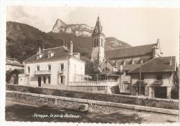 Isère - 38 - Voreppe Mairie Et Pic De Bellevue Ed Photo Oddoux De Grenoble - Voreppe