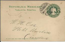 MEXICO ENTERO POSTAL PUBLICIDAD LABORATORIOS QUIMICOS MINERAL - Minerali