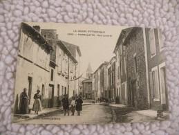 A284. CPA  26. PIERRELATTE.  Rue Louis XI.  Beau Plan Animé.  Ecrite & Voyagée 1909 - Autres Communes