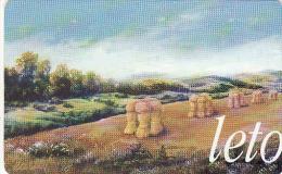 Slovakia-Slovaquie 12/98, Gebraucht-oblitérés,  4 Saisons-été - Slovakia