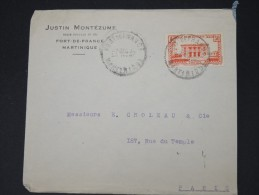 FRANCE- MARTINIQUE- Lot De 3 Enveloppes  Pour La FRANCE  Période 1930/40 A Voir Scans  P4620