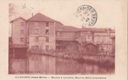 ALLICHAMPS - Moulins à Cylindres, Maurice MERAT Propriétaire - PETIT PRIX FIX, à Voir - Other Municipalities