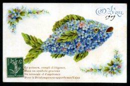 1er AVRIL - Carte De 1909 - 1er Avril - Poisson D'avril