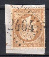 """FRANCE : GC 2404 . """" MONTFORT DU GERS """" . (31) . N° 21 . TB . SUR FGT . - Marcophilie (Timbres Détachés)"""