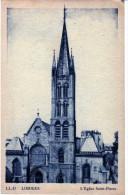 2655   Postal Francia Limoges  Iglesia Saint Pierre - Limoges
