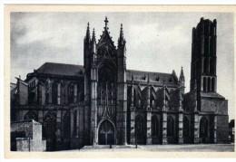 2655   Postal Francia Limoges  La Catedral - Limoges
