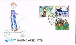 12794. Carta F.D.C. TORSHAVN (Is Faeros) Foroyar 1979 - Féroé (Iles)