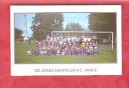 1996 - LES JEUNES EQUIPES DU R.C. RANCE ( 8,5 X 5,5cm) - Petit Format : 1991-00
