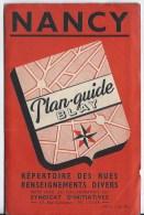 Plan Guide Blay NANCY - Maps