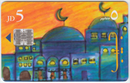 JORDAN A-484 Chip JPP - Painting, Mosque - used
