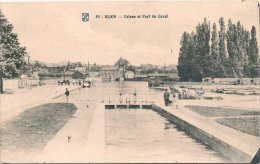 L100B_692 - Dijon- 89 Ecluse Et Port Du Canal - Dijon