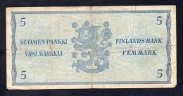 5 MARKKA 1993 FINLANDIA - BB - Finlandia