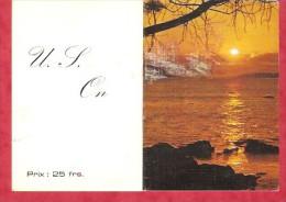 1982 - U.S.  ON ( Marche En Famenne) - Calendriers