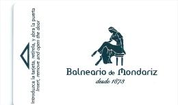 HOTEL BALNEARIO DE MONDARIZ PONTEVEDRA Llave Clef Key Keycard Karte - Hotel Labels