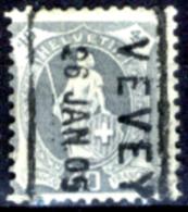 Svizzera-150 - 1904 - Unificato: N. 92 (o) - Privo Di Difetti Occulti. - Gebraucht