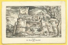 Celano (AQ) - Le Torri Del Castello - Non Viaggiata - Andere Städte