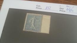 LOT 257641 TIMBRE DE FRANCE NEUF* N�132 VALEUR 84 EUROS