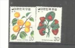 COREE DU SUD   : Y Et T  No 781  782    Neuf   XX  MNH - Corée Du Sud