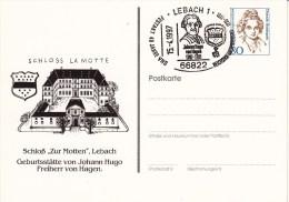 """PP 170 B2/11  Schloß """"zur Motten"""", Lebach - Geburtsstätte Von Johann Hugo Freiherr Von Hagen - BRD"""
