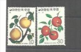 COREE DU SUD   : Y Et T  No 795  796       Neuf   XX  MNH - Corée Du Sud