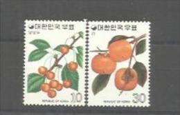 COREE DU SUD   : Y Et T  No 802  803        Neuf   XX  MNH - Corée Du Sud