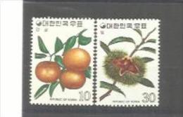 COREE DU SUD   : Y Et T  No 818  819         Neuf   XX  MNH - Corée Du Sud