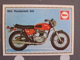 PANINI Super Moto BSA THUNDERBOLT 650 Original Sticker N° 37   Vignette Chromo Trading Card Vignette Cards - Panini
