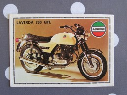 PANINI Super Moto LAVERDA 750 GTL  Original Sticker N° 112  Vignette Chromo Trading Card Vignette Cards - Panini