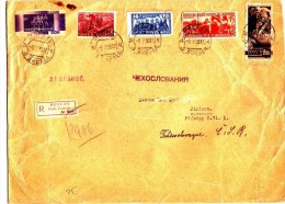R-LETTER FROM MOSCOW TO PRAHA.