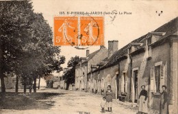 SAINT-PIERRE-DE-JARDS LA PLACE ANIMEE - Non Classificati