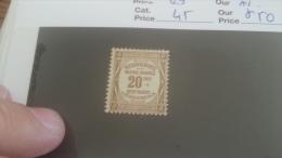 LOT 257727 TIMBRE DE FRANCE NEUF* N�45 VALEUR 50 EUROS