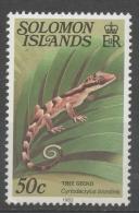 Isole Salomone Solomon Islands 1983 -  Geco Gecko Rettili Reptiles MNH ** - Isole Salomone (1978-...)