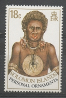 Isole Salomone Solomon Islands 1990 - Ornamenti Personali Personal Ornaments MNH ** - Isole Salomone (1978-...)
