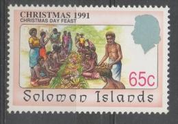 Isole Salomone Solomon Islands 1991 - Natale Christmas MNH ** - Isole Salomone (1978-...)