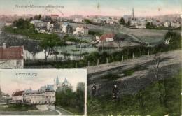 Neutral- Moresnet - Altenberg- Emmaburg: carte ayant voyag� oblit�ration MORESNET- BELGE