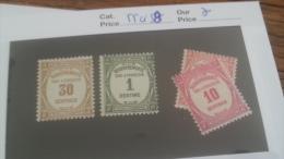 LOT 257734 TIMBRE DE FRANCE NEUF* N�55 A 58