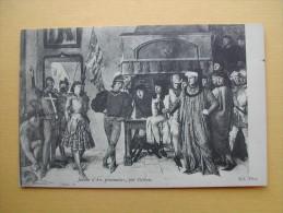 Jeanne D´Arc Prisonnière Par Patrois. - Paintings