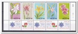Palau 1990, Postfris MNH, Flowers, Orchids, Expo '90 Osaka - Palau