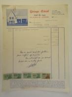 Facture Invoice 1967 Garage Astrid Assebroek Automobiles Auto - Transports